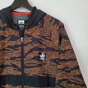 Adidas Camouflage Jacket